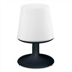 Koziol Uppladdningsbar LED-lampa Light To Go Svart