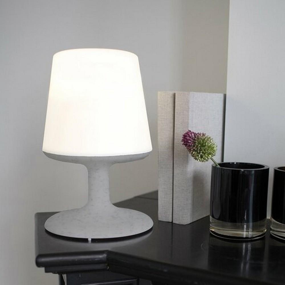Koziol Uppladdningsbar LED-lampa Light To Go Grå