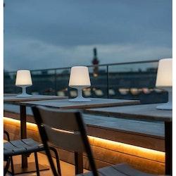 Koziol Uppladdningsbar LED-lampa Light To Go Mörkgrå