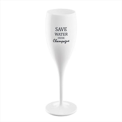 Koziol Champagneglas Save Water 6-pack