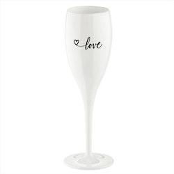 Koziol Champagneglas Love 2.0 6-pack