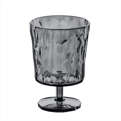 Koziol Gobletglas Club S Transparent Grey 8-pack