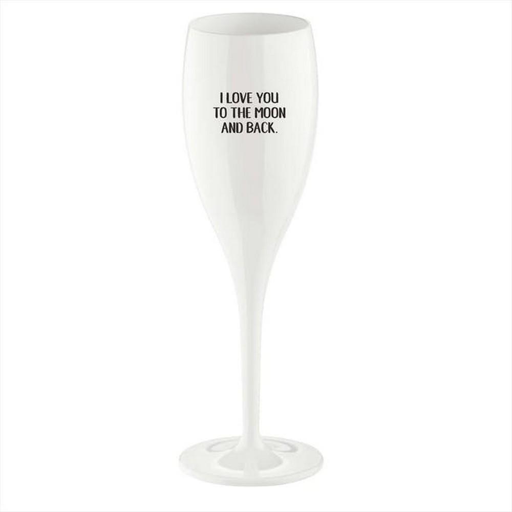 Koziol Champagneglas Love You 6-pack