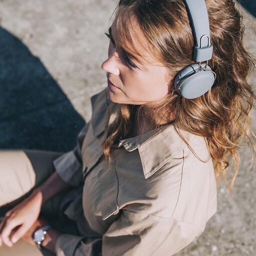 Kreafunk Hörlurar On-Ear aWEAR Cool Grey