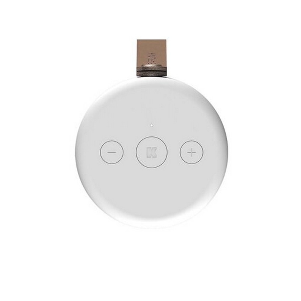 Kreafunk Högtalare Bluetooth aCOUSTIC White