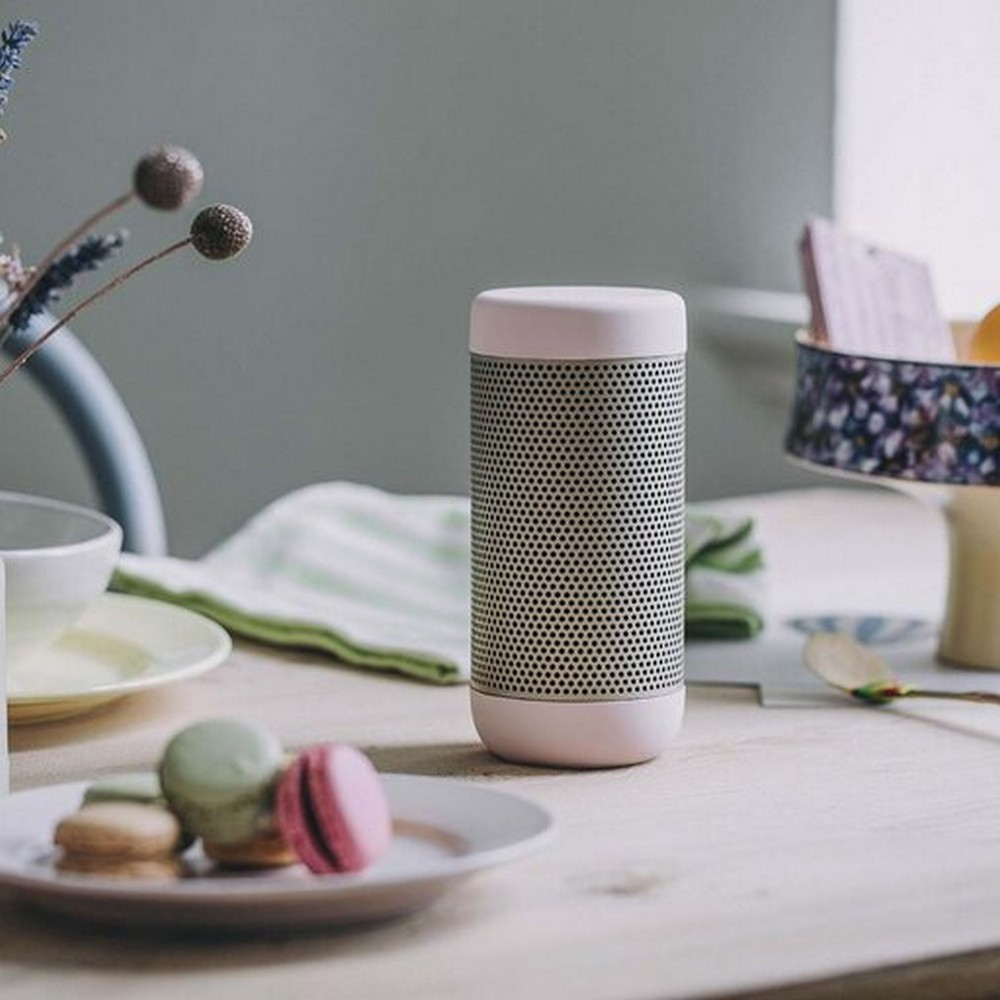 Kreafunk Högtalare Bluetooth aCOUSTIC Dusty Pink