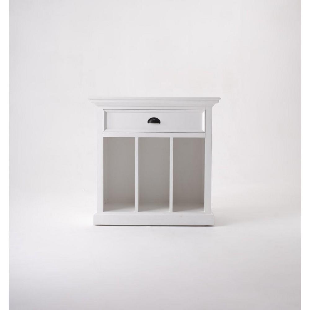 NovaSolo Sängbord med avdelare Halifax Grand