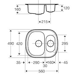 Contura Steel Diskbänk 84721290