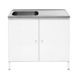 Contura Steel Tvättbänk CABL 10 med två dörrar