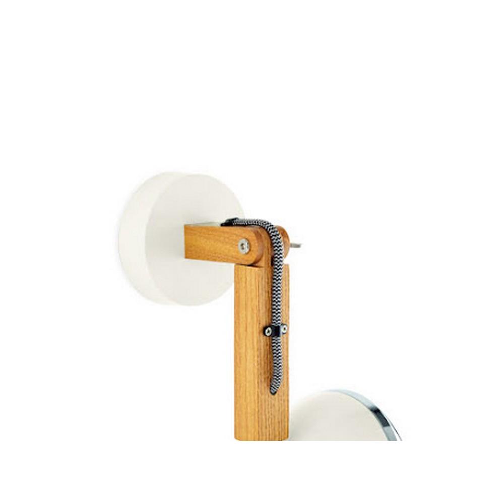 Mr. Wattson Vägglampa LED Ash Vintage White