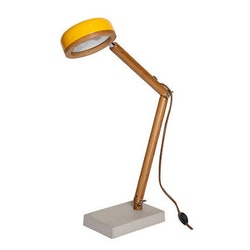 Mr. Wattson Skrivbordslampa Hipp LED Copenhagen Yellow