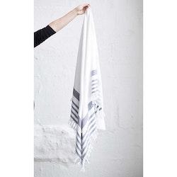 Månsing Handduk Hal Vit/Grafit