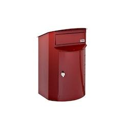 Biggi Postlåda Rondo Mini Röd 352
