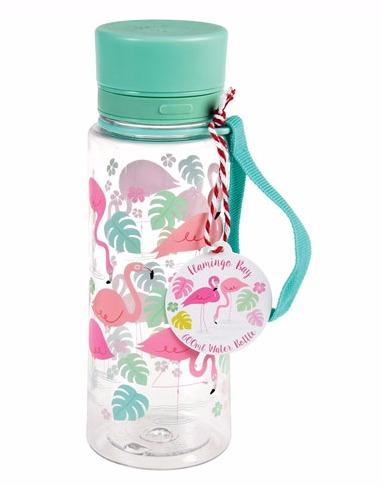 Flaska med pip och tätt lock Flamingos