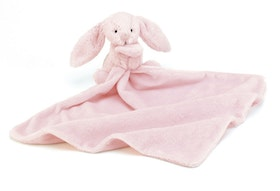 Jellycat Bashful Pink Bunny Soother. 0+