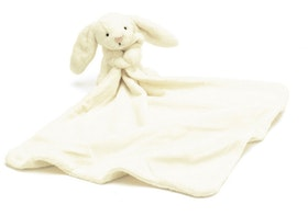 Jellycat Bashful White Bunny Soother. 0+