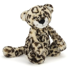 Jellycat medium bashful leopard