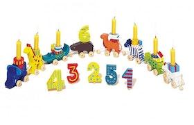 Goki födelsedagståg cirkusdjur