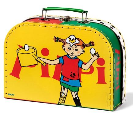 Pippi Långstrump Micki Pippi väska gul