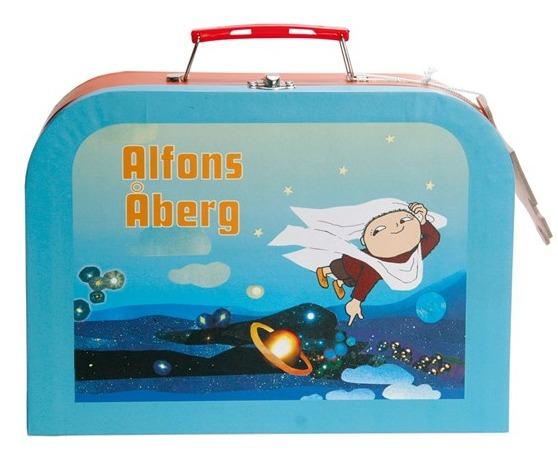 Alfons Åberg golvpussel i väska