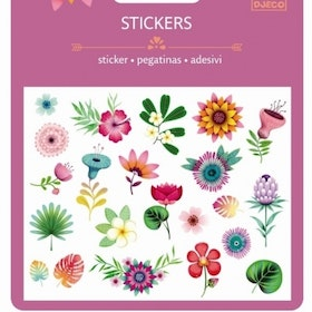 Blomstickers 3+