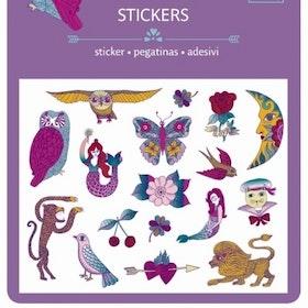 Djeco Lila stickers 3+