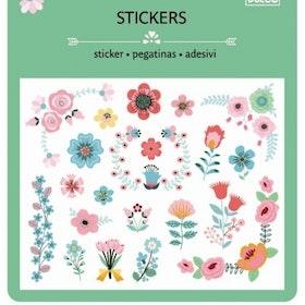 Djeco Blommiga stickers 3+