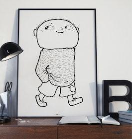 Alfons Åberg! Poster 50x70