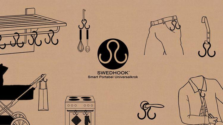 Universal dubbelkrok 3-pack - Swedhook