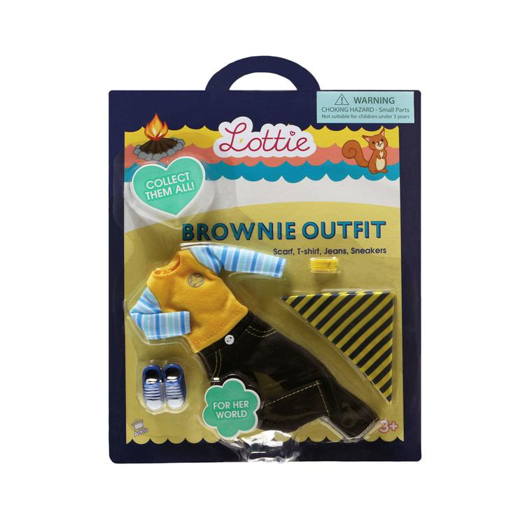 Lottie tillbehör Brownie Outfit