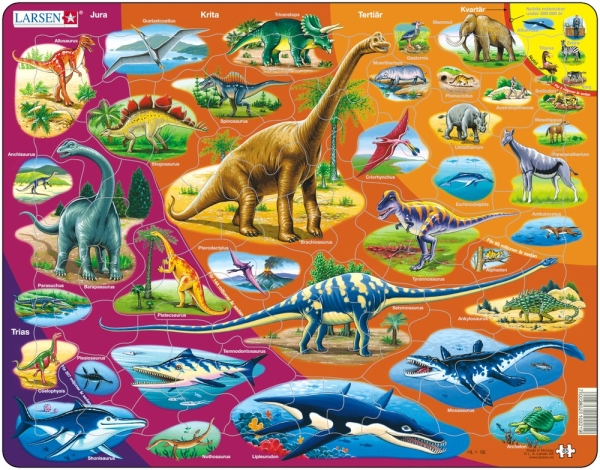Dinosaurier - Larsen