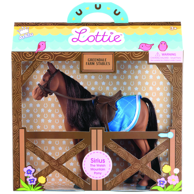 Lottie Sirius ponny 3+