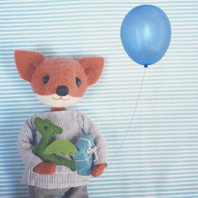 Pippi & Me - Mr Fox and little dragon
