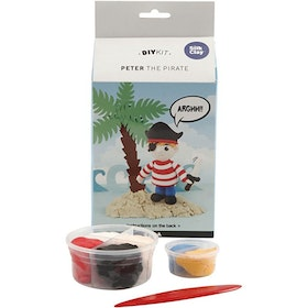 Peter the pirate silk clay