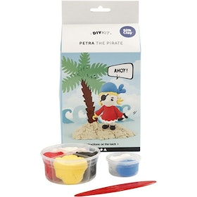 Petra the pirate silk clay