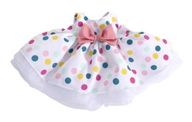 Rubens kids dot dress
