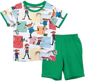 Pyjamas kort Pippi
