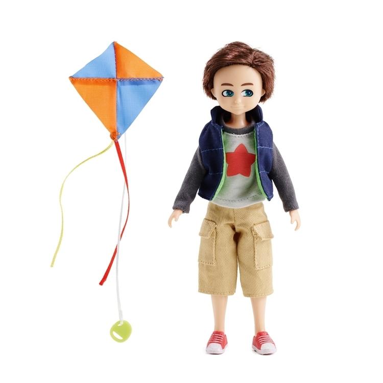 Lottie docka Finn kite flyer