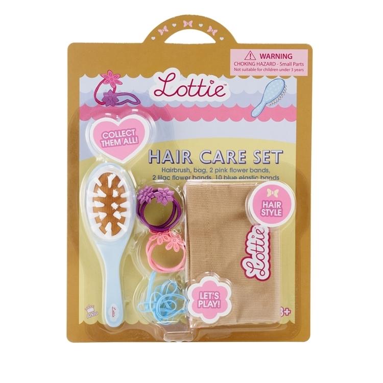 Lottie tillbehör hair care set