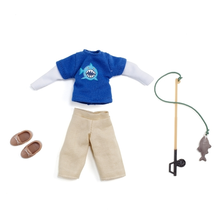 Lottie tillbehör Gone fishing