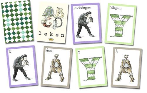 ABCD leken - Kortspel