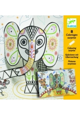 Djeco Pop-up elefant