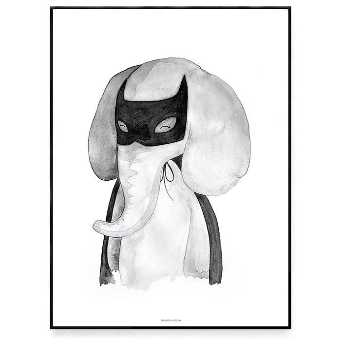 Fashionell A3 Be like batman utan ram