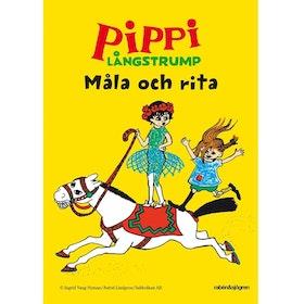 Pippi Långstrump Måla och rita Gul
