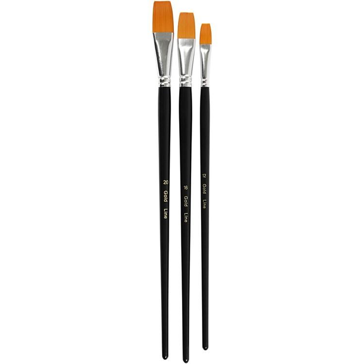 CC Goldline penslar 3-pack