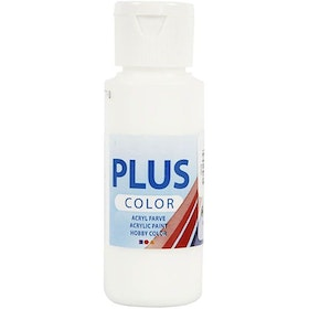 CC Plus color white
