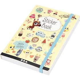 Stickersbok Blandat