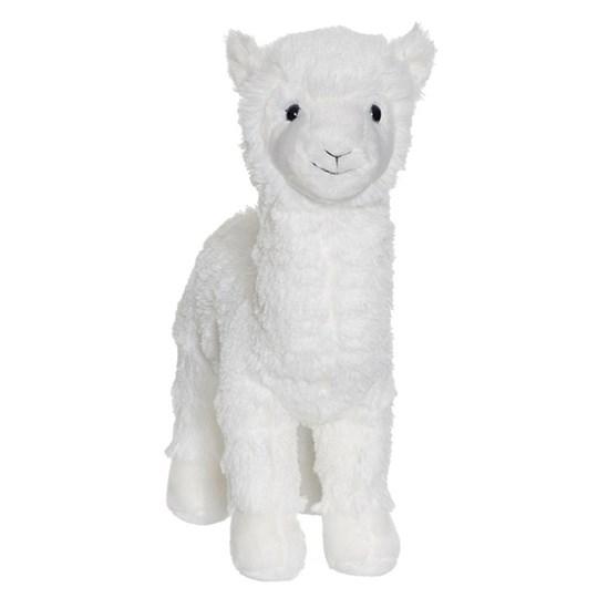 Teddykompaniet Lama, vit
