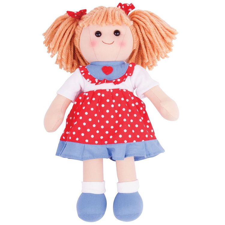 Bigjigs Emily docka 34 cm 1+