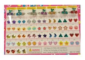 Stickers Örhängen + ringar